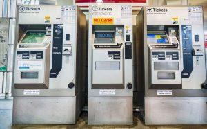 fare vending machines